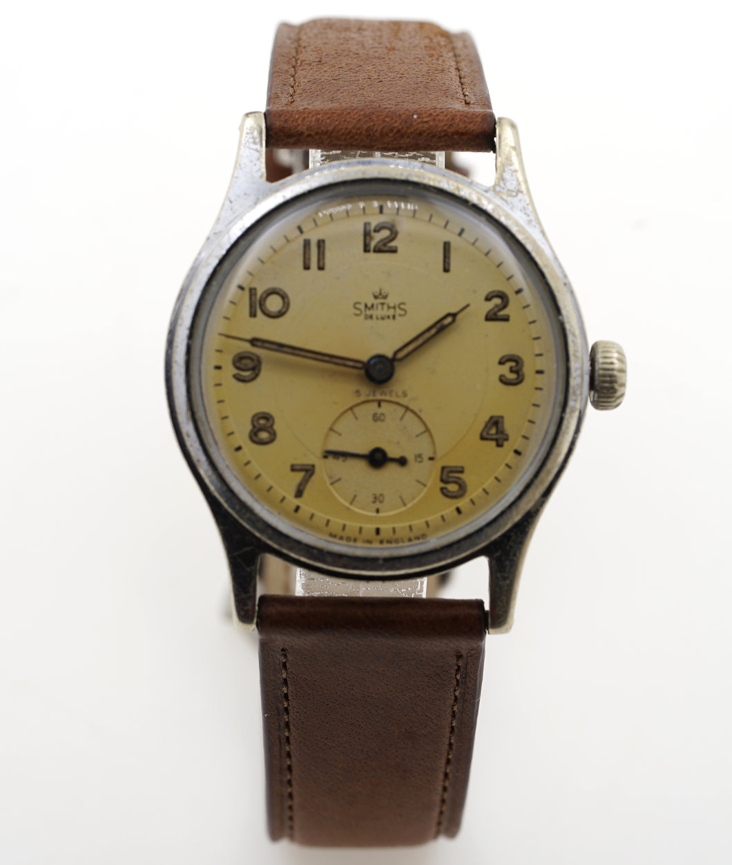 DELUXE SMITHS A404 C1955 EXPEDITIONARY PATTERN WATCH 14