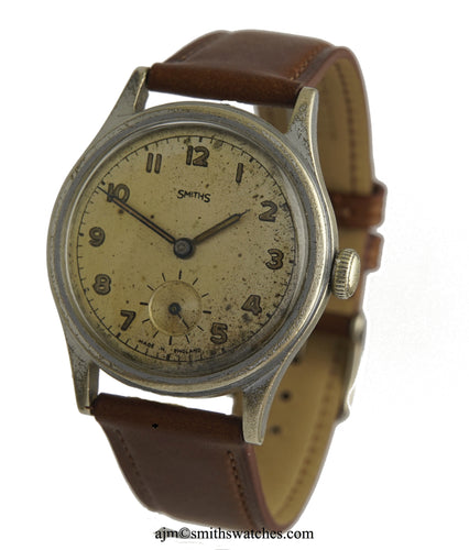 SMITHS EARLY PRE-HILLARY TYPE EVEREST WRISTWATCH C 1951