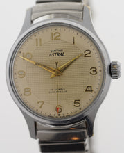ASTRAL  SMITHS STEEL AND CHROME WRISTWATCH ON SMITHS BRACELET
