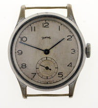 SMITHS EARLY PRODUCTION STEEL AND NICKEL CASED WRISTWATCH