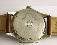 DELUXE SMITHS A 409 PATTERN DENNISON CASED EXPEDITION WRISTWATCH 1953 NO 5