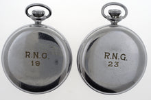 SMITHS MILITARY ISSUE C1953 PAIR OF DECK POCKET WATCHES