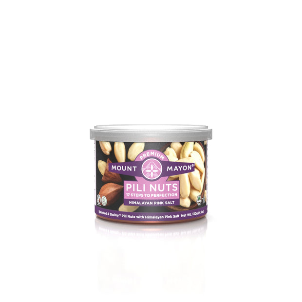 Himalayan Salt Pili Nuts - Mount Mayon