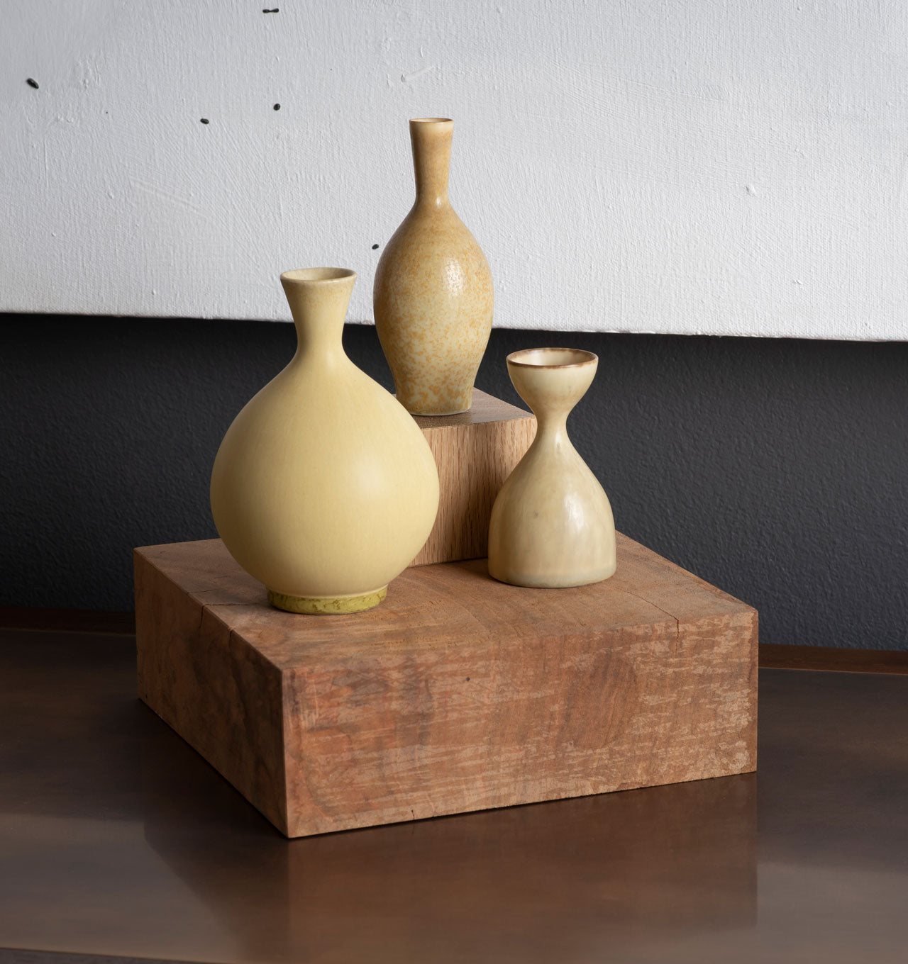 Straw Vessel Trio