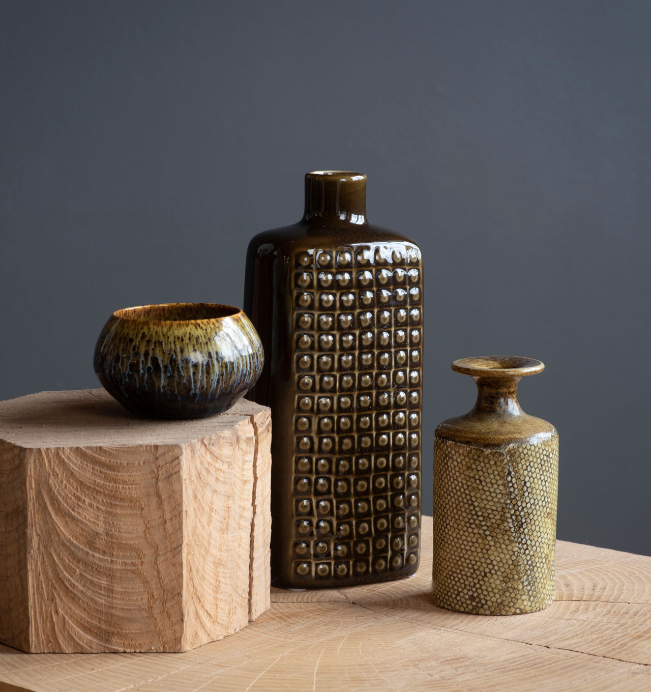 Textural Vessel Collection