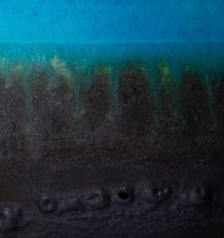 Load image into Gallery viewer, Turquoise Drip Glaze Vase Set
