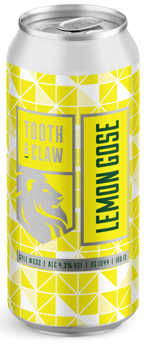 Tooth & Claw Lemon Gose Sour