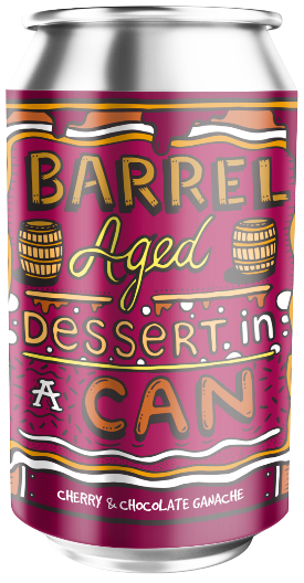 Amundsen Barrel Aged Dessert In A Can Cherry & Chocolate Ganache