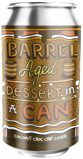 Amundsen Barrel Aged Dessert In A Can Coconut Choc Chip Cookie