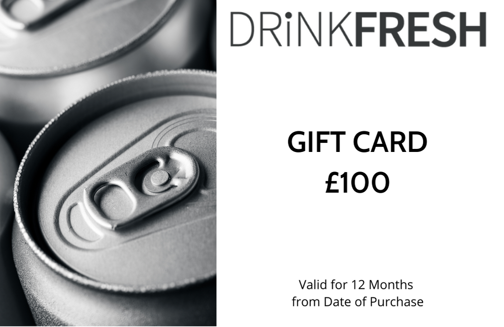 DRiNKFRESH £100 Gift Card