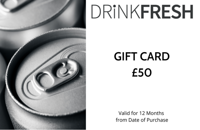 DRiNKFRESH £50 Gift Card