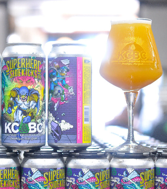 KCBC Superhero Sidekicks IPA