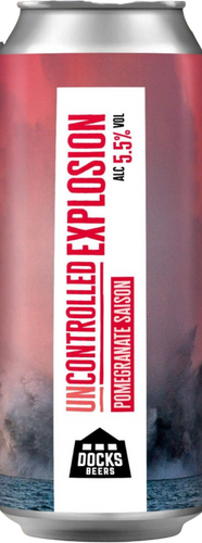 Docks Beers - Uncontrolled Explosion - Pomegranate Saison
