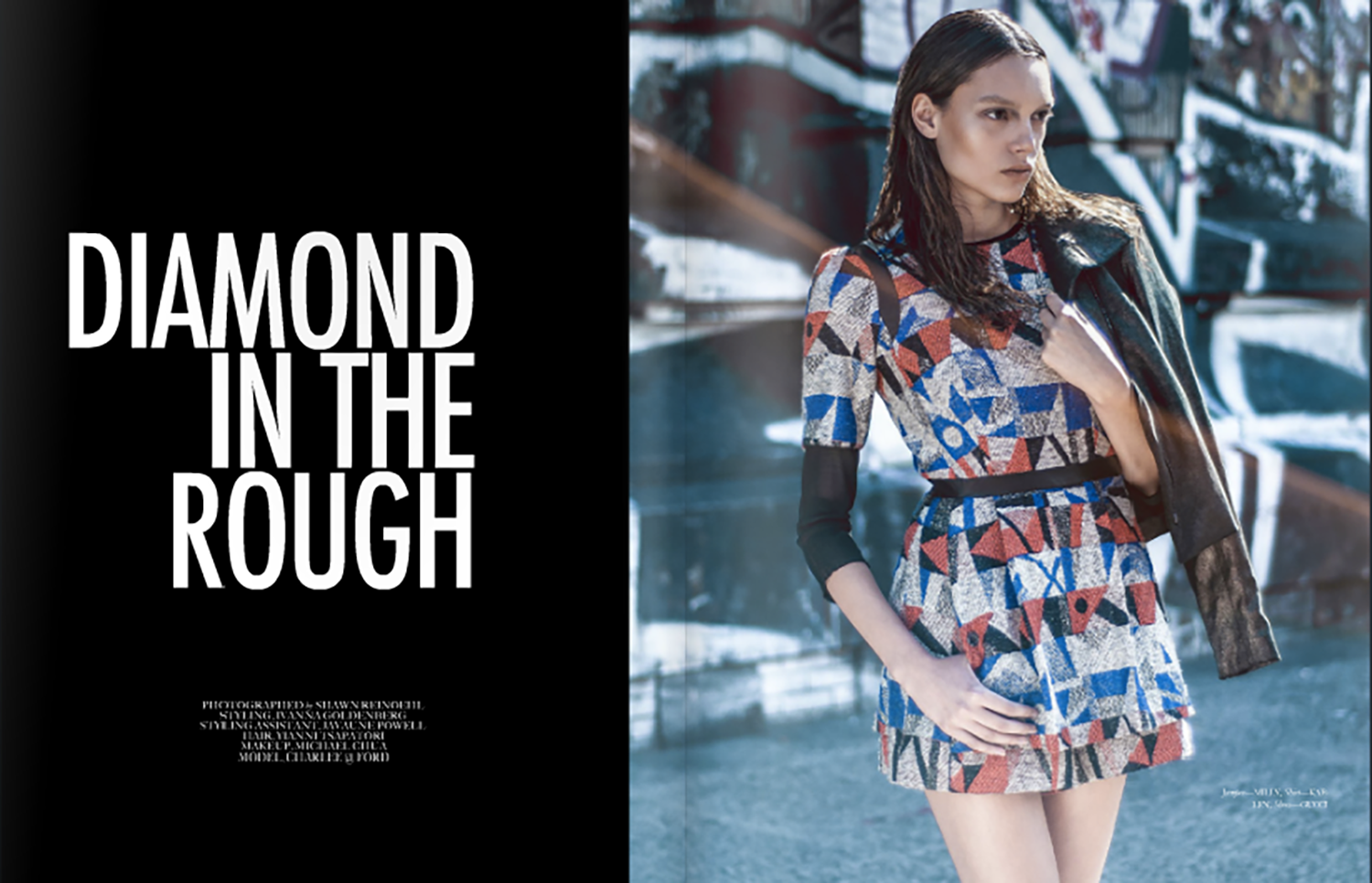 DIAMOND IN THE ROUGH KNEON ISSUE 9 ALIVE & WELL