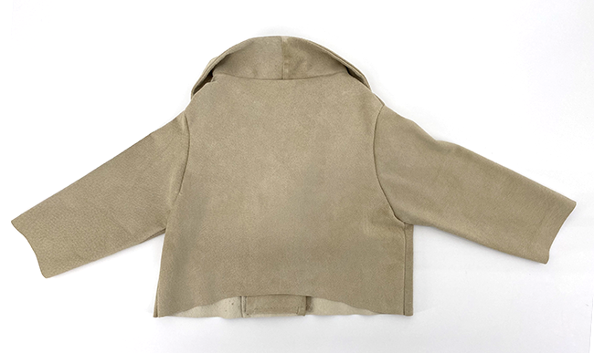 the Baby Motorcycle Jacket in Suede