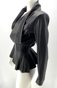 the Peplum Jacket