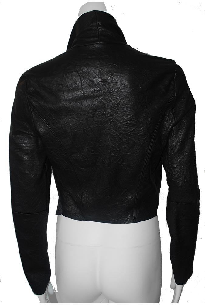 the Distressed Leather Jacket