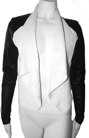 the Draped Studded Jacket