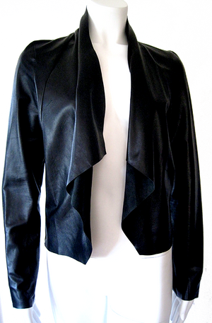 the Long Draped Jacket
