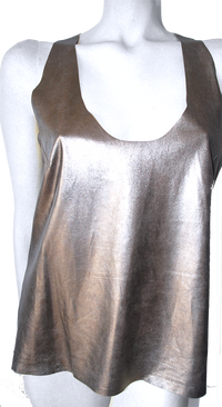 the Metallic Tank Top