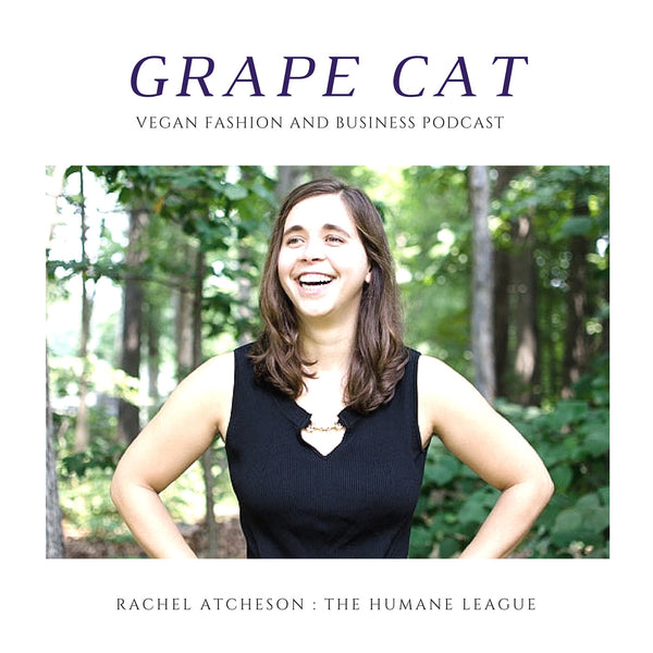 Interview with Rachel Atcheson from The Humane League
