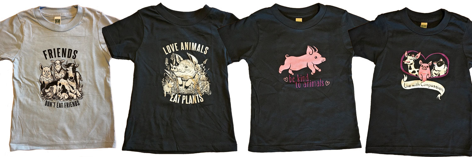 Vegan Kids T-Shirt Banner
