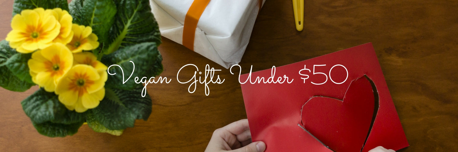 Vegan Shopping List: Vegan Gifts Under $50