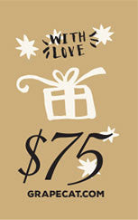 Gift Card by Grape Cat Vegan Clothing Brand