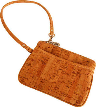 Amora Wristlet in Cork - Grape Cat