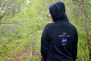 Grape Cat Logo Hoodie - Grape Cat