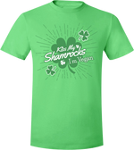 Kiss My Shamrocks. I'm Vegan T-Shirt by Grape Cat Vegan Clothing Brand