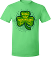 Vegan and Up for Shenanigans T-Shirt by Grape Cat Vegan Clothing Brand