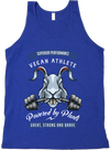 Vegan Athlete Rabbit Tank Top - Grape Cat