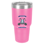 Vegan Athlete Rabbit Tumbler by Grape Cat Vegan Clothing Brand