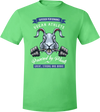 Vegan Athlete Rabbit T-Shirt by Grape Cat Vegan Clothing Brand