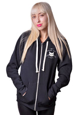 African Elephant RPET Hoodie by Grape Cat Vegan Clothing Brand