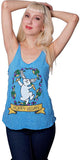 Hoppy Vegan Tank Top, Tank Top, Grape Cat - Vegan Grape Cat