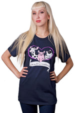 Live with Compassion T-Shirt by Grape Cat Vegan Clothing Brand