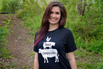 Love, Peace, Compassion T-Shirt by Grape Cat Vegan Clothing Brand