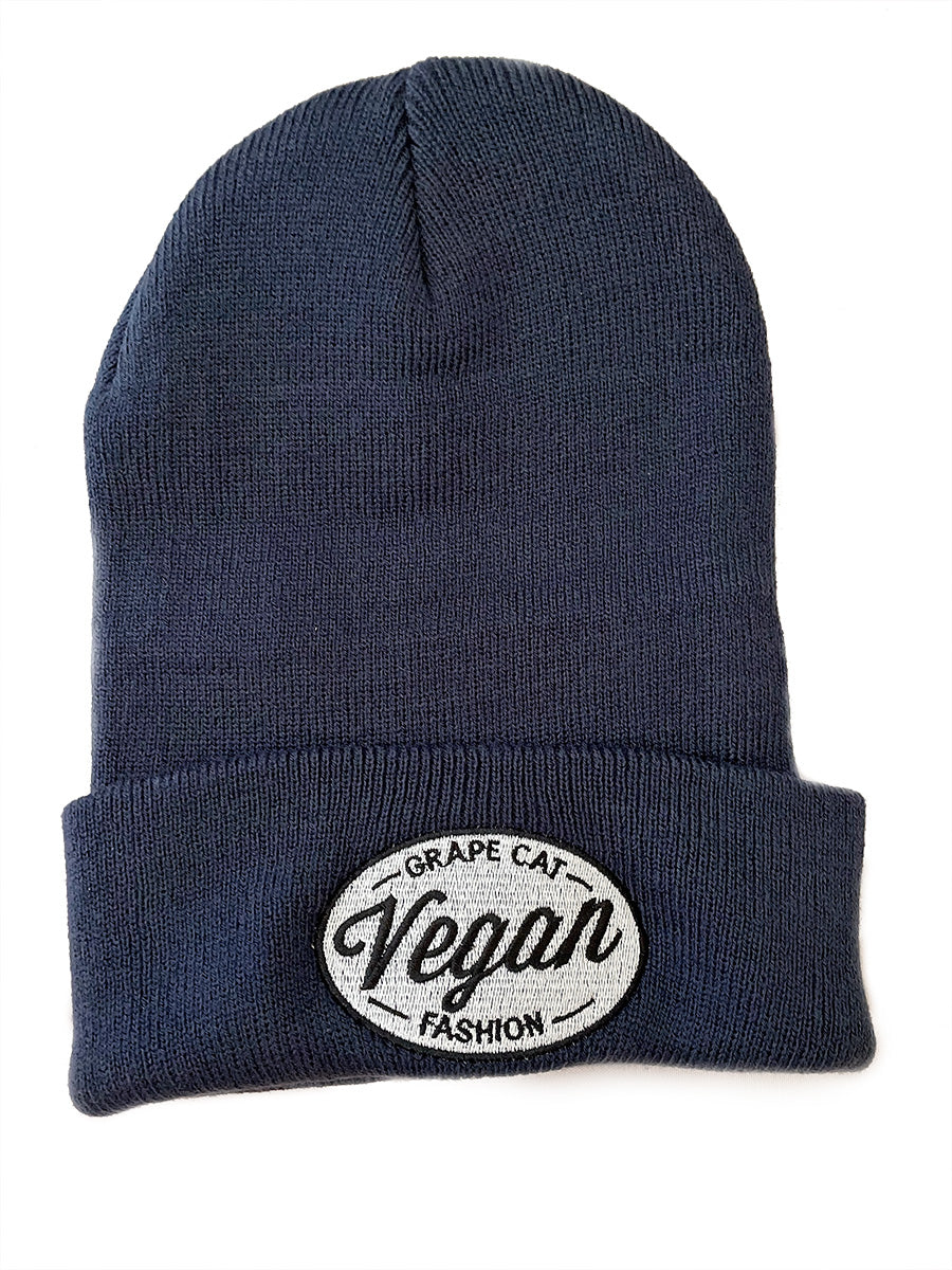 Vegan Beanies - Grape Cat