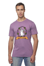 Hoppy Vegan T-Shirt by Grape Cat Vegan Clothing Brand