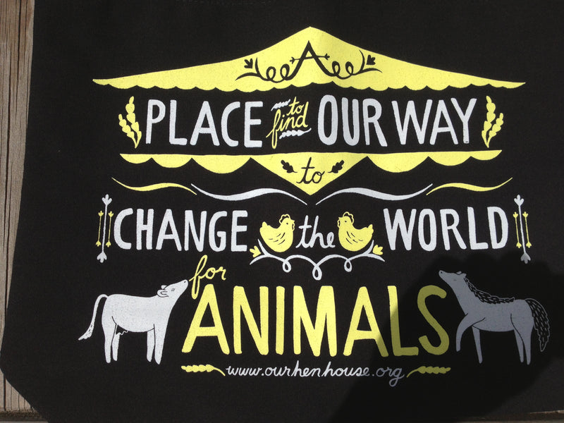 Our Hen House by Grape Cat Vegan Clothing Brand