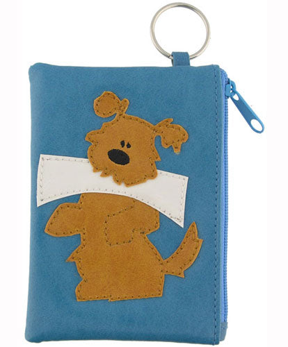 Dog Coin Purse by Grape Cat Vegan Clothing Brand