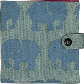 Elephant Wallet by Grape Cat Vegan Clothing Brand