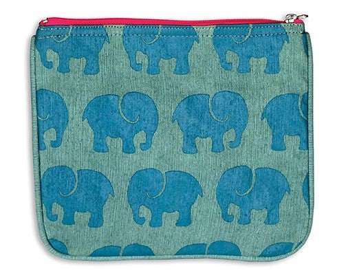 Elephant Pouch by Grape Cat Vegan Clothing Brand
