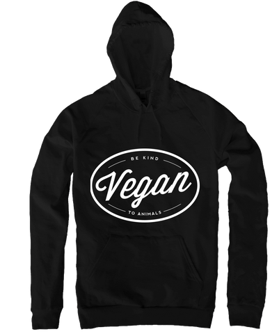 Vegan Hoodie in Kelly Green