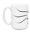 Grape Cat Mug by Grape Cat Vegan Clothing Brand