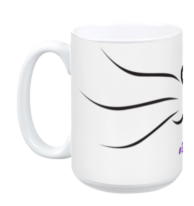 Grape Cat Mug, Mug, Grape Cat - Vegan Grape Cat