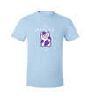 Grape Cat T-Shirt Black Logo by Grape Cat Vegan Clothing Brand