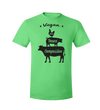 Vegan: Love, Peace, Compassion T-Shirt by Grape Cat Vegan Clothing Brand